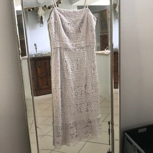 BB DAKOTA Lace Midi Dress